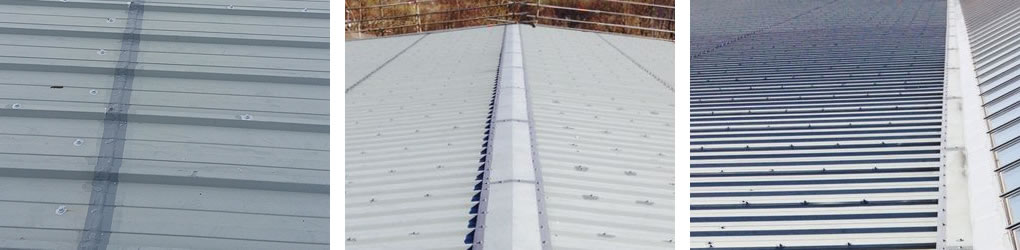 fixing encapsulation steel roofs