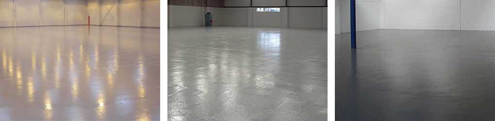 floor painting large warehouse area