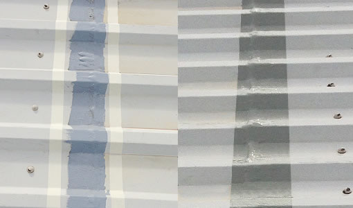 mid sheet cut edge masking