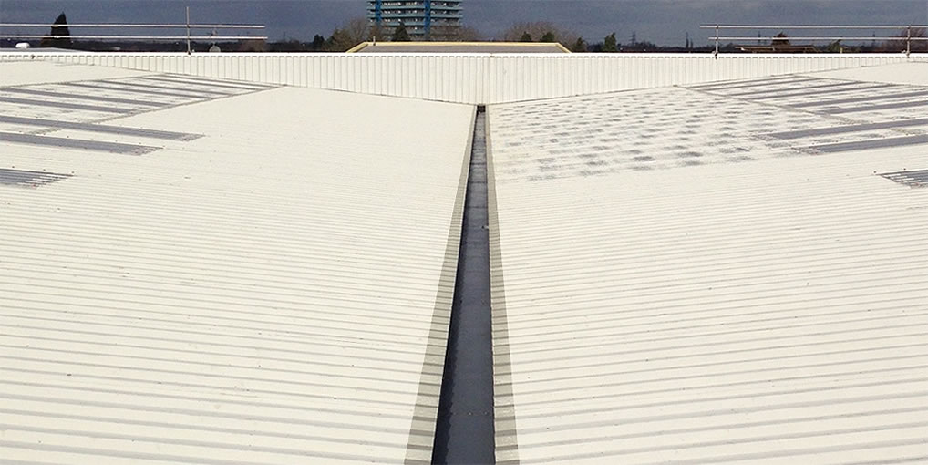 treated gutter edges corrosion
