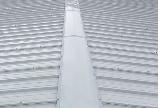 cut edge corrosion treated roof grey paint