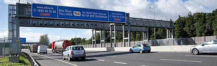 open road tolling m50 dublin