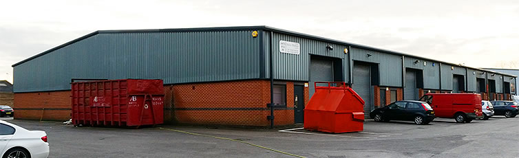 grey industrial unit mansfield