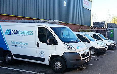 painting contractor vans