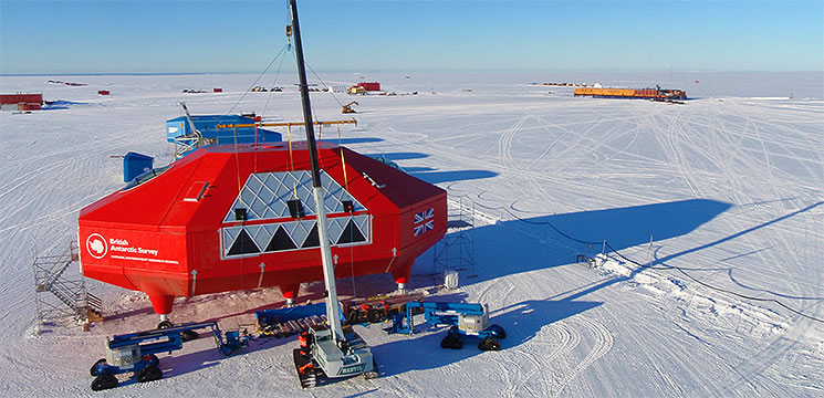 british arctic research station