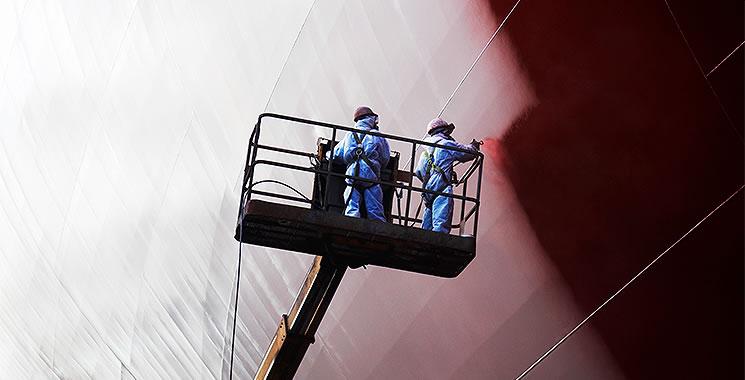 chinese ship painting akzo nobel performance coatings