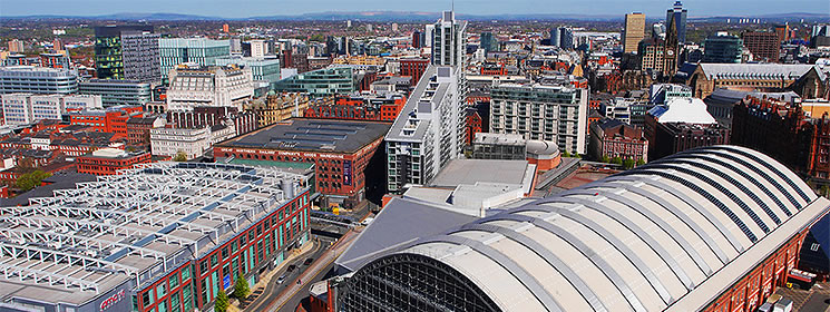 city centre steel roof structures