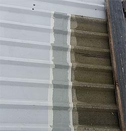 roof light overlap cut edge masking tape