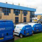 dd coatings vans on site
