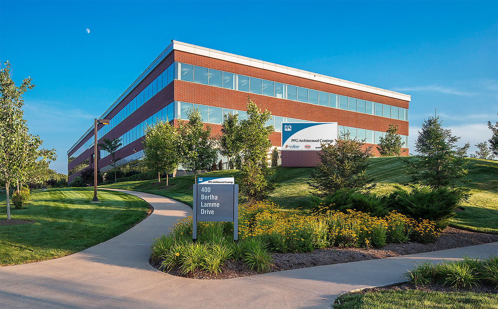 ppg industries regional headquarters for architectural coatings