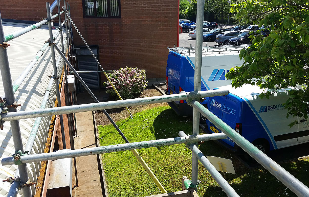 scaffolding erection pemberton business centre wigan