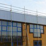 scaffolding office complex uk