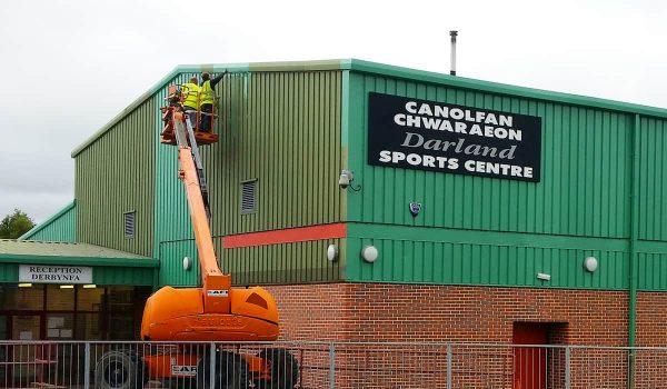 darland sports centre wrexham