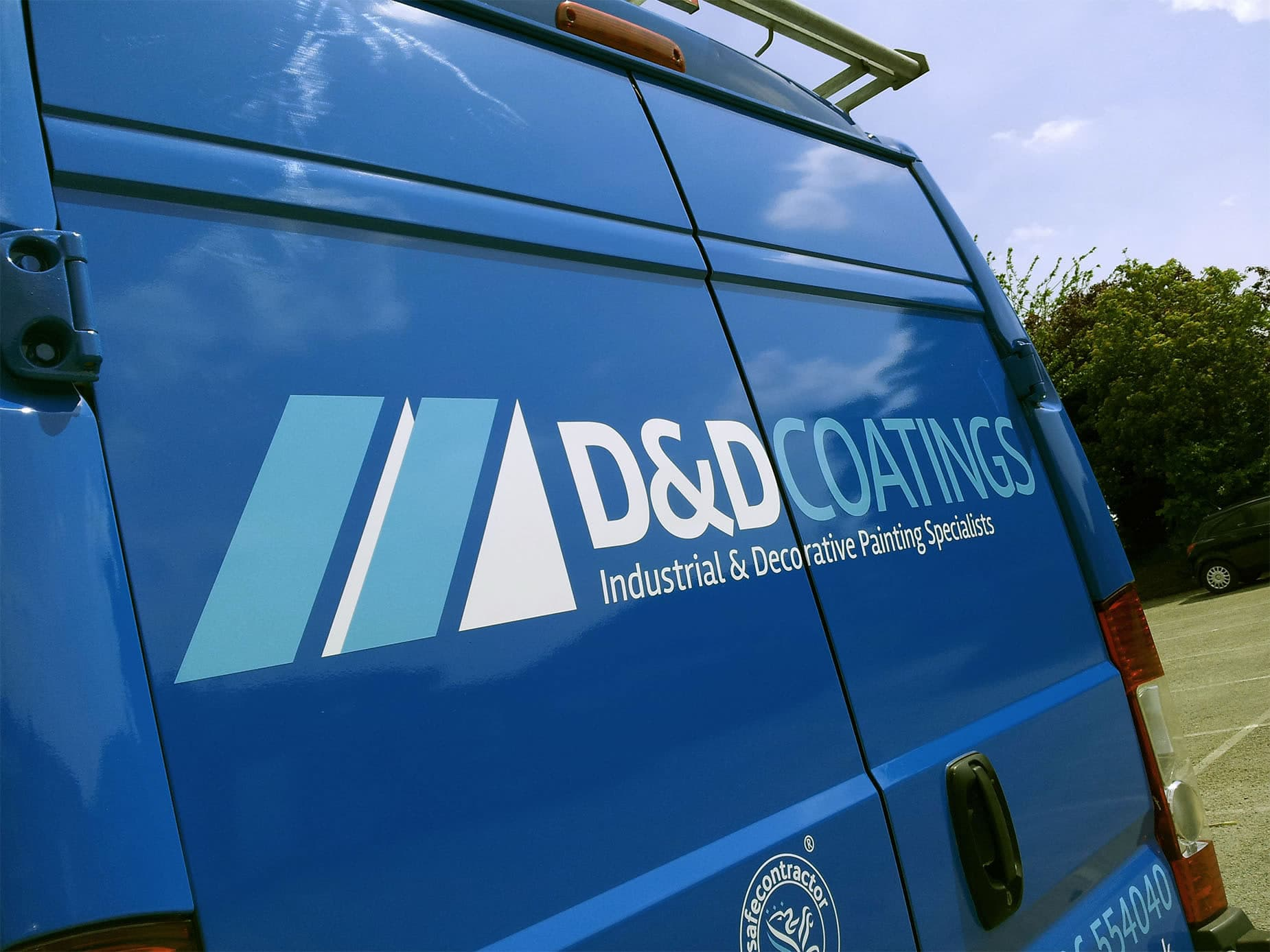 d and d coatings van rear