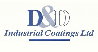 D&D Coatings first logo design 1997