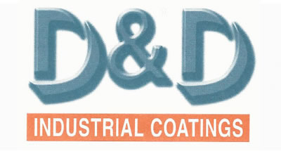 D&D Coatings logo rebrand 2004