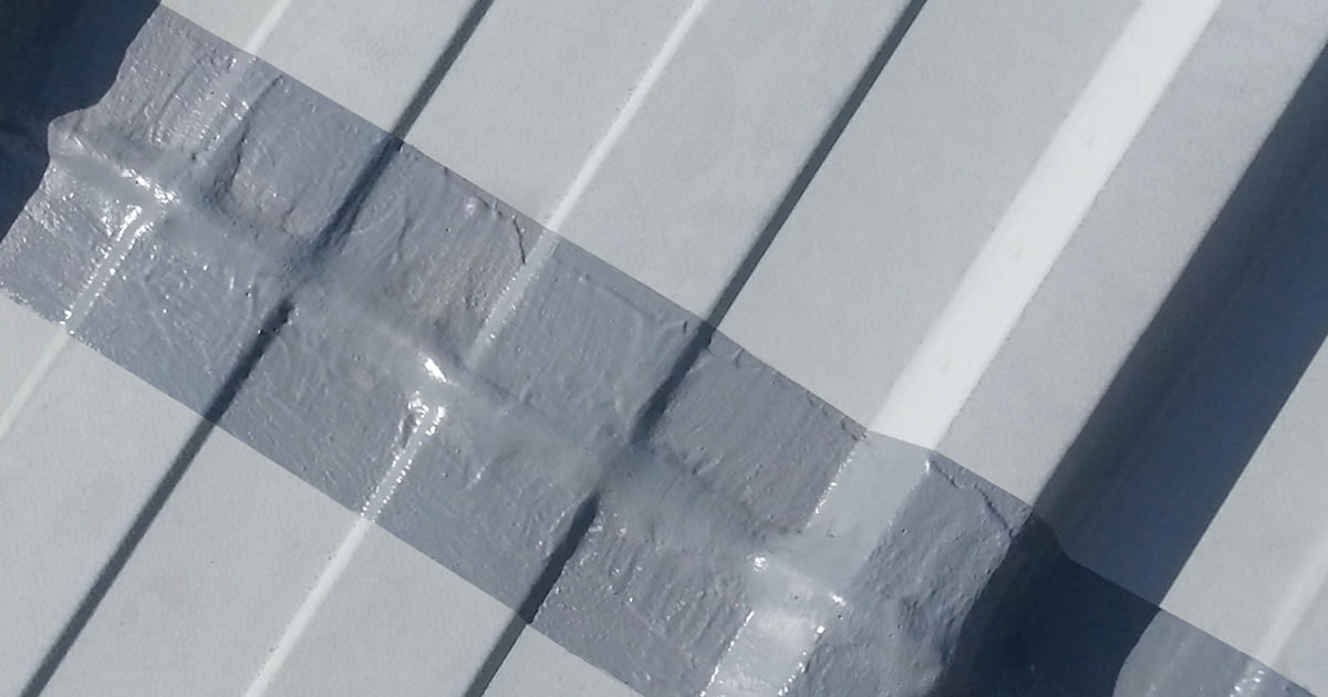 cut edge corrosion treated roof
