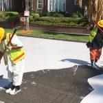 coating streets white fb