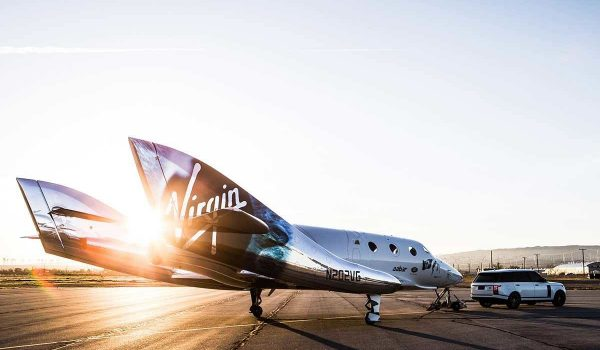 Special Coating System for Virgin Galactic Spaceport