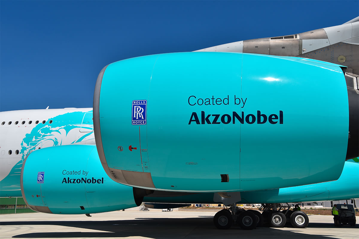 coated by akzonobel rolls royce engines 2