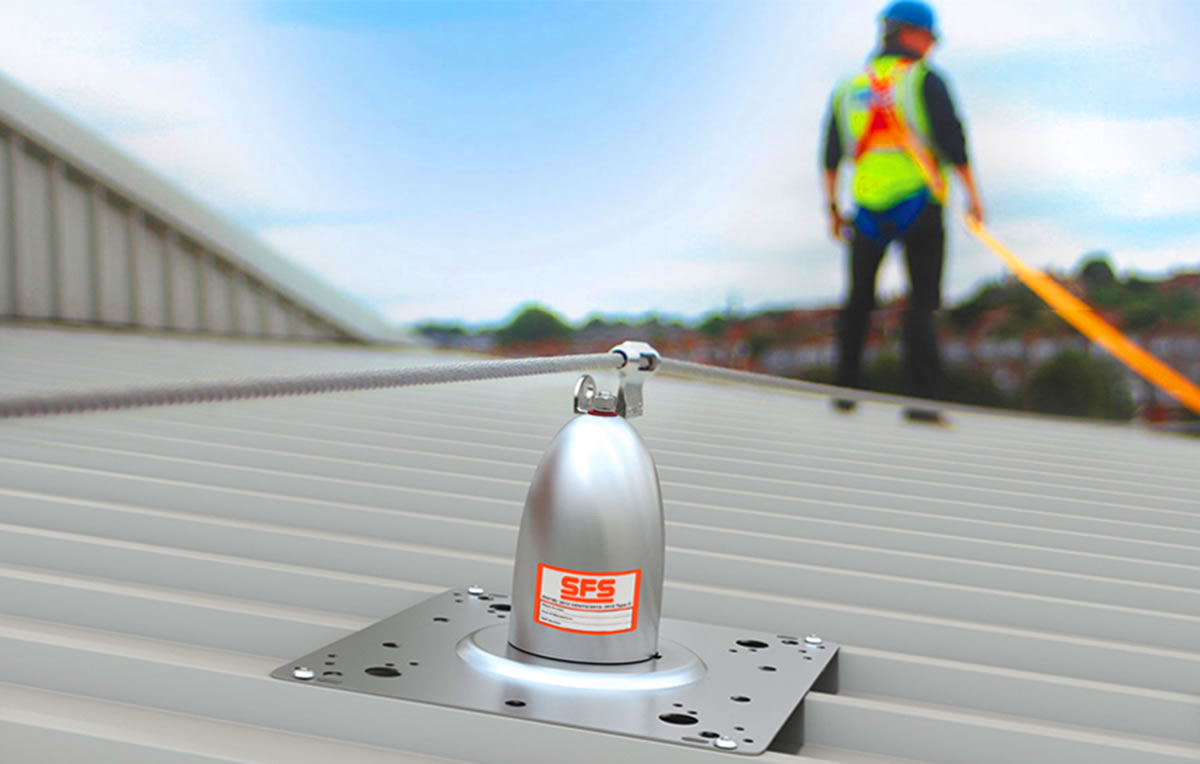 sfs new soter II fall protection system
