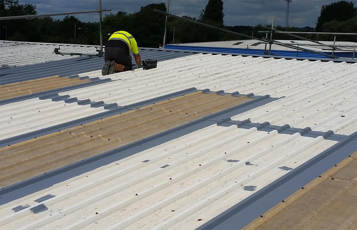 periodic steel roof touch up coating