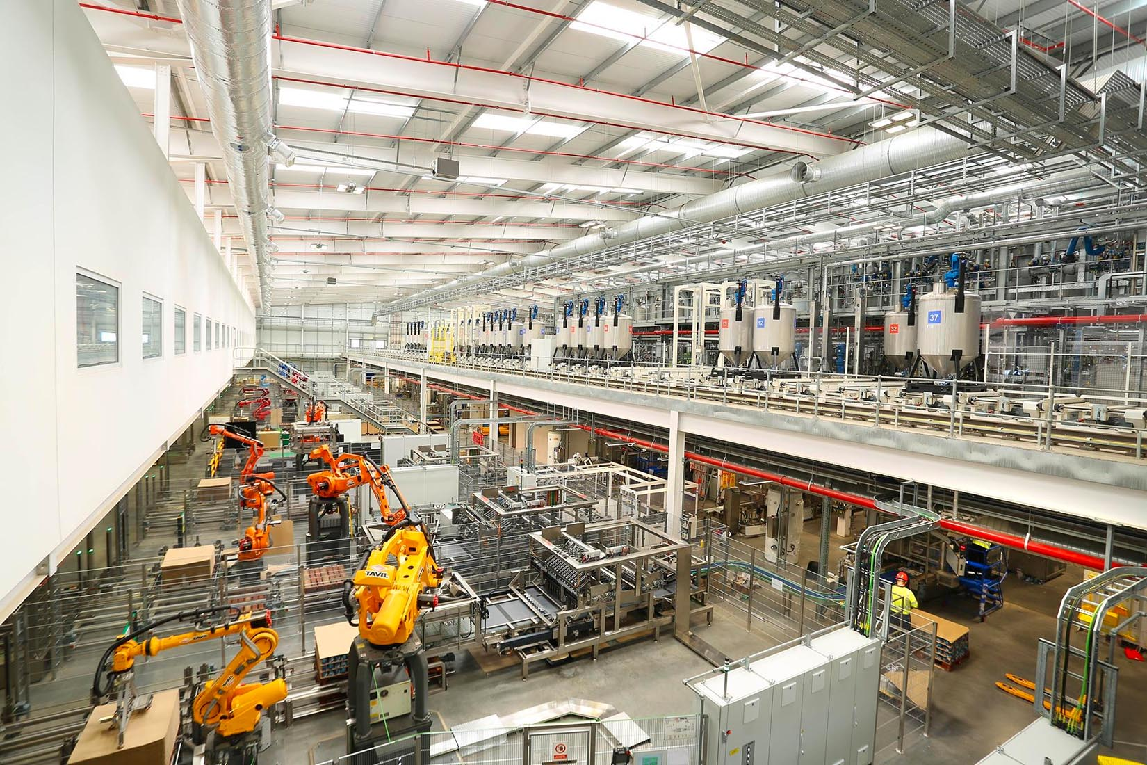 inside akzonobel ashington paint factory uk