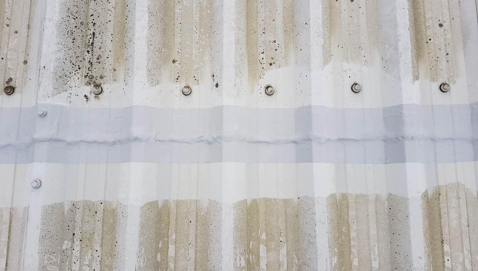 cut edge sealed roof sheet