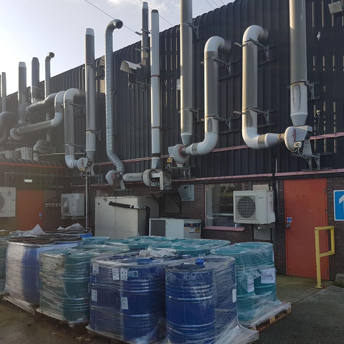 carbon sensor facility north wales