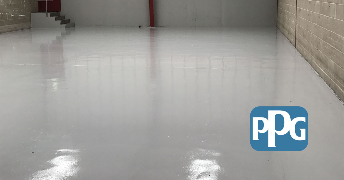 new ppg flooring coatings