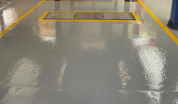 concrete floor coating top coat